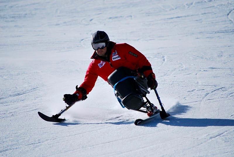Skifahren für handicapierte